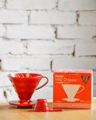 Suporte para filtro de café | Hario V60 Vermelho
