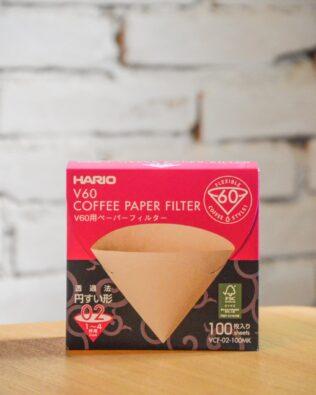Filtro de papel | Hario V60 (100 unidades)