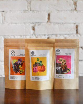 Cafés Especiais | Trio de Cafés |